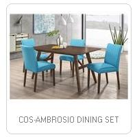COS-AMBROSIO DINING SET